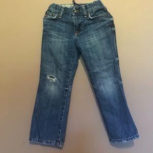 Ralph Lauren Boys' Distressed Slim Denim Jeans